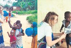 Gamze, Zanzibarda yardıma devam ediyor