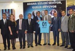 Adana Demirsporun forma sponsoru Temsa oldu