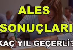ALES sınav sonuçları açıklandı mı ALES sınav sonucu sorgulama