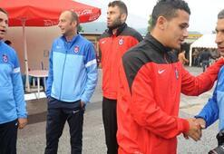 Trabzonsporlu futbolcular gurbette bayramlaştı