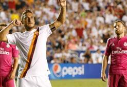Salihli Roma, Madridi Totti ile yıktı