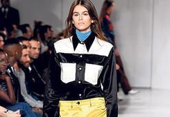 Kaia Gerber'li fashion week