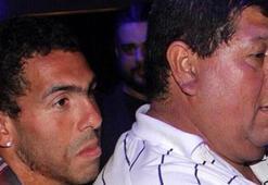 Tevezin babası serbest bırakıldı