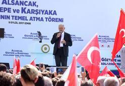 Başbakan Binali Yıldırım, İzmirdeki 3 yeni stadın temelini attı