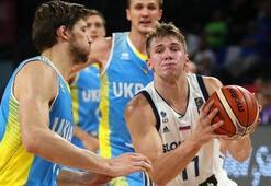 Slovenya çeyrek finalde Slovenya: 79 - Ukrayna: 55