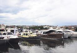 Altın Boynuz'da tekne şov