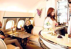 22 bin dolara uçakta banyo