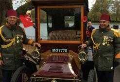 Londrada antika otomobiller yarıştı
