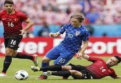 Türkiye: 0 Hırvatistan: 1 (EURO 2016)