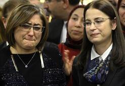 Fatma Şahin gözyaşlarını tutamadı