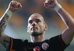 Sneijderden A Milli Takıma destek