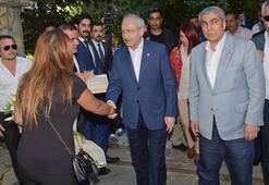Kılıçdaroğlu, Yaşar Nuri Öztürk'ü evinde ziyaret etti