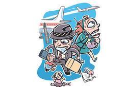 Dikkat, uçakta çocuk var