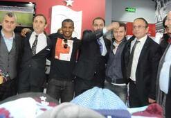 Trabzonda TS Club mağazası açıldı