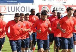 Trabzonsporun ilk yurt dışı kampında 15 futbolcu yer alacak