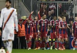 Bayern, Romaya yine acımadı