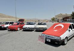 Modifiye otomobil sahiplerinden trafikten men protestosu