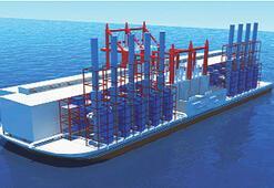 Gemisiyle ülke ülke  gezip elektrik satacak