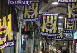 Kapalıçarşıda Fenerbahçe coşkusu