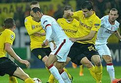 Borussia Dortmund 1 kişi fazla oynamış