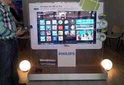 """Philips'in """"Akıllı Android TVleri geliyor"""