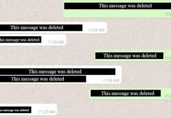 WhatsApp kullanıcılara yanlışlıkla atılan mesajları silme özelliği sunacak