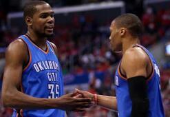 Durant, Clippersı yıktı seri 2-1e geldi