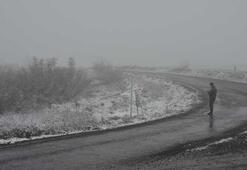 Trakyadan kar manzaraları...