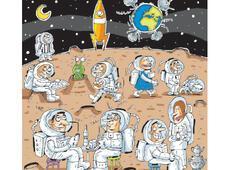 Türkler uzaya giderse...