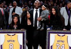 Kobe Bryant iki forması birden emekli edilen ilk isim oldu