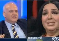 Ahmet Çakardan Nur Yerlitaşa: Siz tam bir ekran hayvanısınız