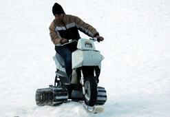 Rizelinin kar sky aracı