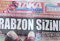 Trabzondaki yerel gazeteler öfkeli