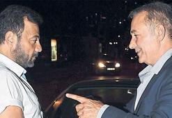 Kerem Alışık, Mehmet Aslantuğ ile dertleşti