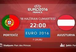 Portekiz Avusturya maçı ne zaman saat kaçta hangi kanalda - EURO 2016