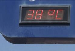 İstanbul'da termometreler 38 dereceyi gördü