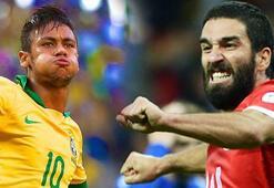 Türkiye-Brezilya maçının 11leri belli oldu