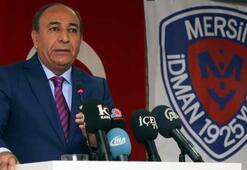 Mersin İdman Yurdu Başkanı, günün iddiasını yalanladı