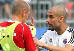 Çılgın Guardiola Gece 3te Robbeni arayıp...