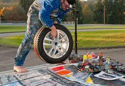 Goodyear lastik etiketlemeyi sıradışı bir sanat eseri ile anlatacak…