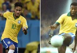 Neymar'ın sırrı Pele