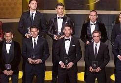 Altın Top Ödülünün sahibi Ronaldo