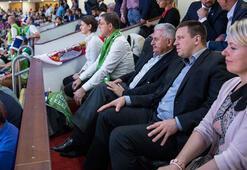 Başbakan Binali Yıldırım, EuroBasket 2017 finalini izledi