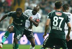 Beşiktaş - Konyaspor maç sonucu: 2-0 (İşte maçın özeti)