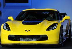 Detroitte Corvette Z06 rüzgarı