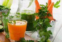 Bağışıklığı güçlendiren zencefilli havuç suyu tarifi
