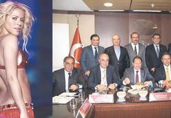 Shakira'ya kayısı ikram edilecek