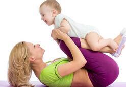 Doğum sonrası kısa sürede forma girmenin yolları