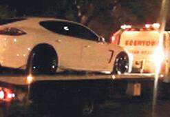 Gitti Tevez'in Porsche'u