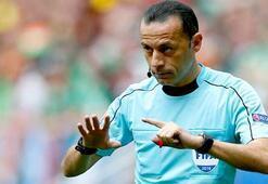 İtalya-İspanya maçı Cüneyt Çakırın